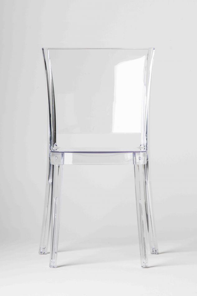 Chaise transparente polycarbonate lucienne neutre for Ikea sedie trasparenti