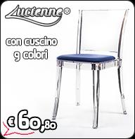 sedie trasparenti, sedia trasparente, sedie policarbonato, sedia policarbonato, sedie metacrilato, sedie plexiglass, sedie kartell prezzi