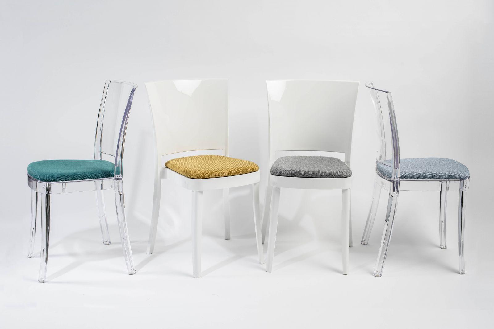 Nuovi cuscini Trevira CANVAS per la nostra sedia Lucienne