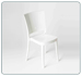 Chaise polycarbonate 1° choix LUCIENNE