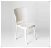 Chaise polycarbonate 2° choix LUCIENNE