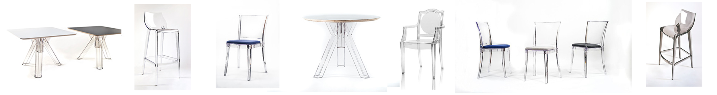 Bellelli Design - Polycarbonate Bar Stools