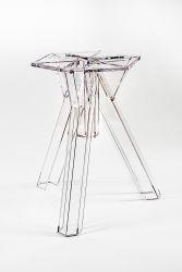 Base Transparente en Polycarbonate Design Ometto