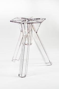 Base Transparente Policarbonato Diseño Ometto