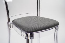 """TREVIRA KAT cushion for Lucienne chair - Brown Gray """"Tricolor"""""""