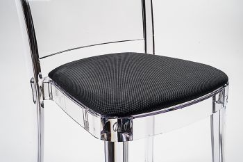 """TREVIRA KAT cushion for Lucienne chair - Slate Gray """"Bicolor"""""""