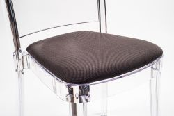 "TREVIRA KAT cushion for Lucienne chair - Ground Brown ""Bicolor"""