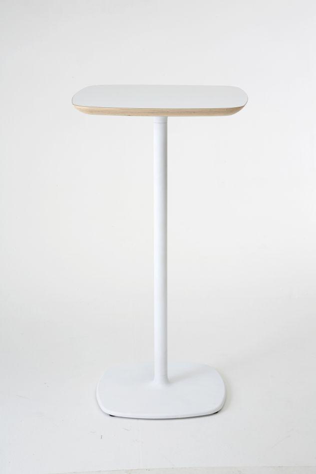 Tavolo Alto Bianco.Tavolo Bar Alto Design Bloum Bianco H 110