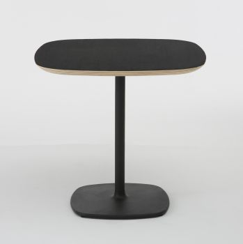 Table de bar design BLOUM 80x80 Noir - h. 74