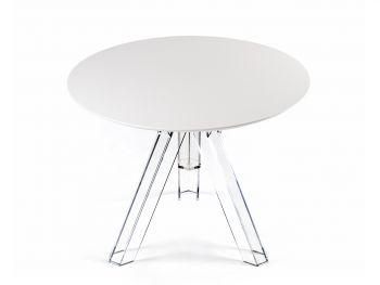 Tavolo rotondo Bar trasparente design OMETTO