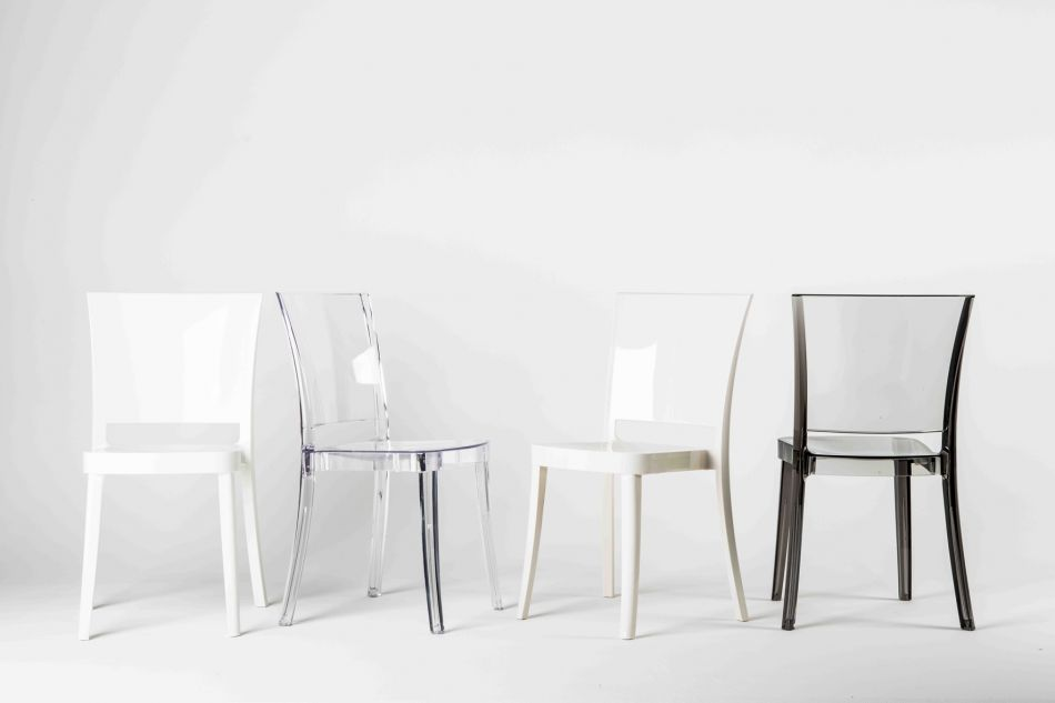 Transparent Chair Polycarbonate LUCIENNE   Neutral