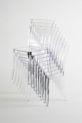 Transparent Chair Polycarbonate LUCIENNE - Pallet 18 pieces - Neutral