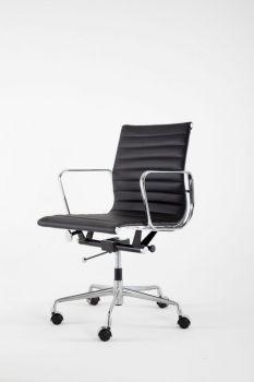 Armchair Mod LUMYAN CHAIR - Short - Riv. Leather