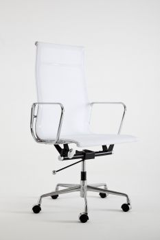 Armchair Mod LUMYAN CHAIR - Riv. Net - White