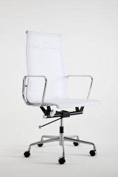 Fotel Mod KRZESŁO LUMYAN - Riv. Siatka - biała