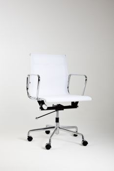 Armchair Mod LUMYAN CHAIR - Short - Riv. Net - White