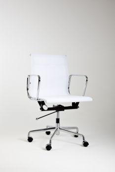 Fotel Mod KRZESŁO LUMYAN - Krótki - Riv. Siatka - biała