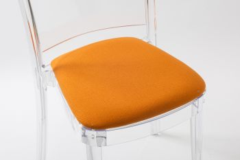 TREVI cushion for Lucienne chair - Orange