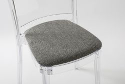 TREVI cushion for Lucienne chair - Black-White