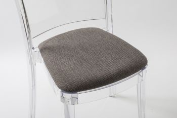 TREVI cushion for Lucienne chair - Gray-Brown