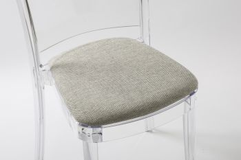 TREVI cushion for Lucienne chair - Gray Melange